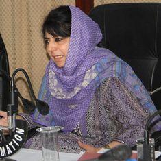 Jammu & Kashmir: Mehbooba Mufti criticises Farooq Abdullah for Hurriyat remarks