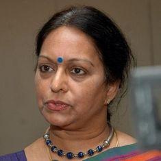 सारदा घोटाला : पूर्व वित्तमंत्री पी चिदंबरम की पत्नी को ईडी का समन