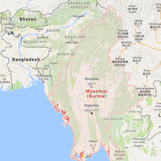 6.8-magnitude earthquake strikes Myanmar, tremors felt in West Bengal, Bihar and Assam