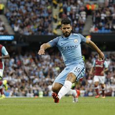 Sergio Aguero handed three-match ban for violent conduct, to miss Manchester derby