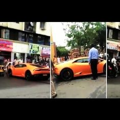 Watch: BJP MLA's wife crashes Lamborghini gifted by her husband (and other sports car mishaps)