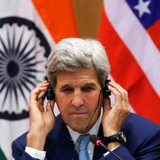 The right to protest without feared of being jailed must be respected, says John Kerry at IIT Delhi