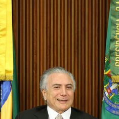 Michel Temer sworn in as president of Brazil, vows to bring in a 'new era' of government