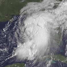 Hurricane Hermine: Florida's first violent windstorm in 11 years leaves thousands without power