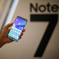 Samsung begins global recall of Galaxy Note7 following 35 reports of the model's battery exploding