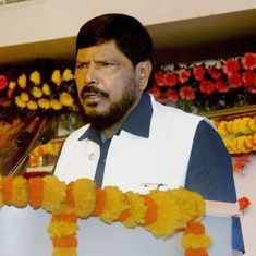 Social Justice Minister Ramdas Athawale believes transgender people should not wear saris