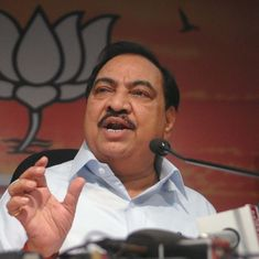 Ex-revenue minister Eknath Khadse will soon return to state Cabinet, says Maharashtra BJP president