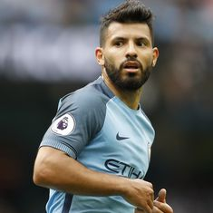 After 'dizzy' spell, Aguero declares himself fit for Manchester City's trip to Leicester