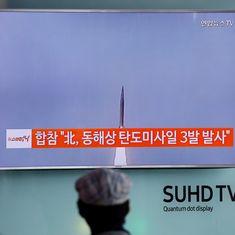 अमेरिका को फिर ठेंगा दिखाकर उत्तर कोरिया ने बैलिस्टिक मिसाइल दागी