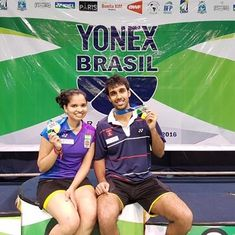 Badminton: N Sikki Reddy and Pranaav Chopra win mixed doubles title at Brazil Open