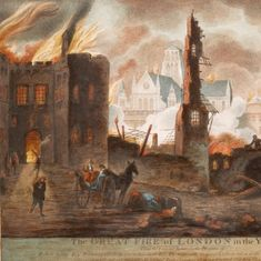 An old letter shows how the East India Company reacted to the Great Fire of London