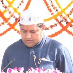 Former AAP minister Sandeep Kumar's secretary arrested for leaking explicit videotape
