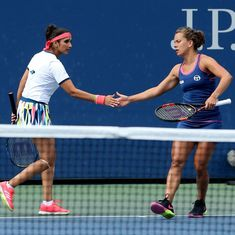 Tennis: Sania Mirza-Barbora Strycova labour into second round of Pan Pacific Open