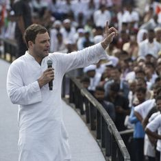 'Modi is only his own leader, BJP is waiting to push him aside,' Rahul Gandhi tells HT