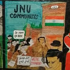 JNU elections: ABVP is wielding Kanhaiya and nationalism (but not #ShutdownJNU) to win votes