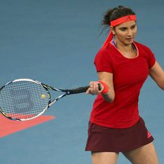 Sania Mirza and Barbora Strycova go down 4-6, 4-6 in Sydney International final