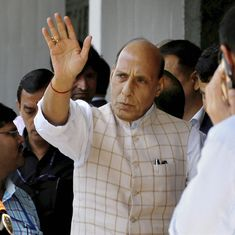 Home Minister Rajnath Singh assures Sikkim that Darjeeling protests will not affect their security