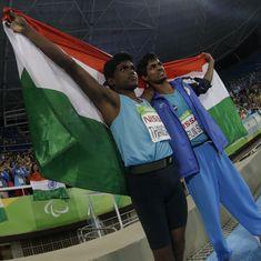 Paralympics 2016: Mariyappan Thangavelu strikes high jump gold, while Varun Bhati takes bronze