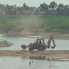 Turning lakes into land: This Tiruchi village shows Tamil Nadu's utter disregard for waterbodies