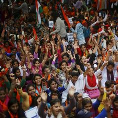 Delhi University polls: ABVP wins president, vice president and secretary positions of student union