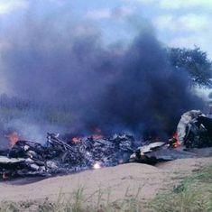 बाड़मेर में वायुसेना का मिग-21 विमान दुर्घटनाग्रस्त, दोनों पायलट सुरक्षित