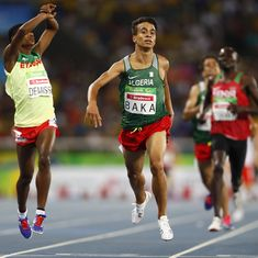 Did you know? Four Paralympians could have won gold in the men's 1,500 m race in the Olympics