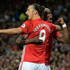 Watch what happened when Paul Pogba interrupted Thierry Henry's interview of Zlatan Ibrahimovic