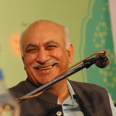 The big news: MJ Akbar back in India, faces calls to step down, and nine other top stories