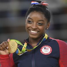 Victorious return: Olympic champion Biles wins US Classic gymnastics competition