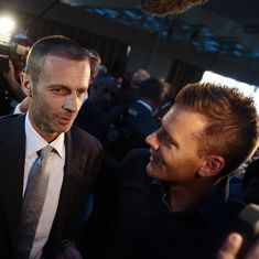 Aleksander Ceferin, the Slovenian football association head, is the new UEFA president
