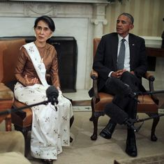 United States says it is ready to lift most of the sanctions imposed on Myanmar