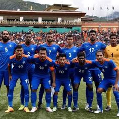 Football: India jump four spots to enter top 150 of FIFA men's rankings