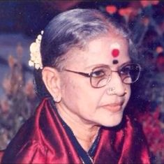Why did MS Subbulakshmi run away from her mother's attempt to find a man for her?