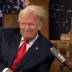 Watch: Jimmy Fallon does with Donald Trump's hair what everyone else is afraid to try