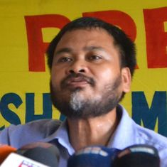 Anti-corruption campaigner Akhil Gogoi gets bail in college defacement case