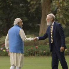 Video: After interviewing Narendra Modi, David Letterman visited a coal power plant in New Delhi