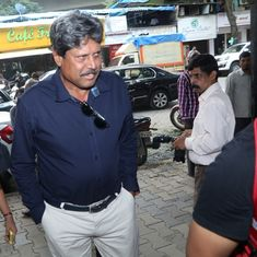 Kapil Dev rebukes reporter for asking why Pakistan is not participating in the Kabaddi World Cup