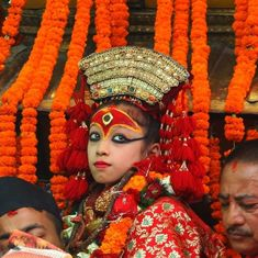 नेपाल की जीती-जागती देवियां