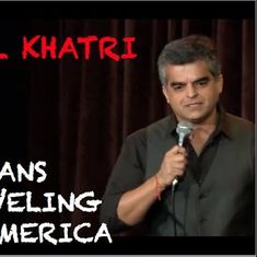Watch this comedian poke fun at Indians trying to save money when holidaying in America