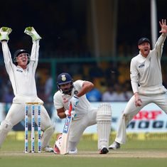 For all India's talk of intent, it was New Zealand who really walked the talk on Day 1