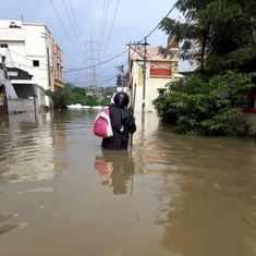 Photos: Seven dead in Guntur floods, schools shut in Hyderabad as Met department predicts more rain