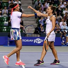 Sania Mirza-Barbora Strycova enter quarter-finals of Wuhan Open