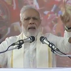 Sounding nothing like Gujarat CM, Narendra Modi asks Pakistan to declare war – on poverty