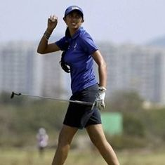 Aditi Ashok tied 14th after round two of Meijer Classic, eyes her best ever finish on the LPGA Tour