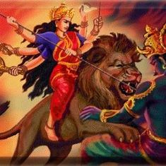 The evolution of Durga, from demon slayer to nourishing mother