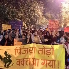 ABVP members tried to tell women they have no right to public spaces in Delhi. They failed