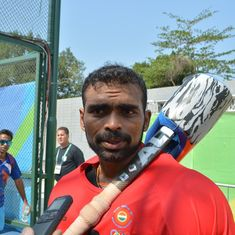 'I have been through a tough time': PR Sreejesh after returning from injury