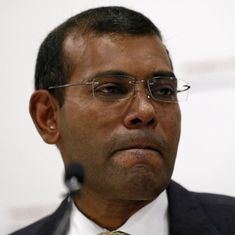Former Maldivian President Mohamed Nasheed renounces presidential bid citing illegal curbs on him