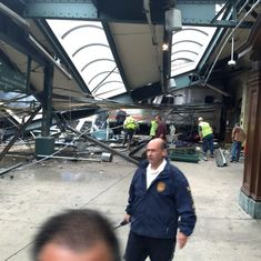 At least three killed, more than 100 injured after train derails and crashes in New Jersey station