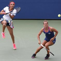 Tennis: Sania Mirza and Barbora Strycova lose the women's doubles final of Wuhan Open